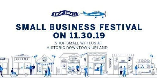 Historic Downtown Upland Merchants: Shop Small Holiday Festival