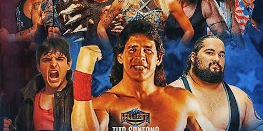 WWE Tito Santana  Pro Wrestling at Bucks Mill Park Sept 7