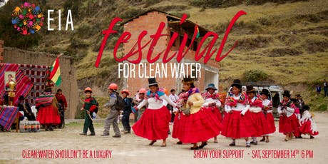 Festival for Clean Water tickets