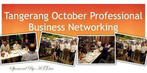 Tangerang October Professional Business Networking