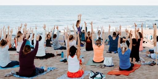 Full Moon Beach Yoga and Live Music