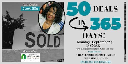 50 Deals in 365 Days