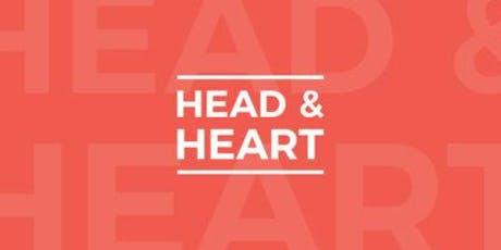 Head & Heart Workshop - Thursday, 19 September tickets