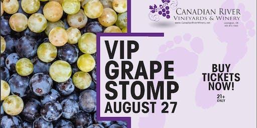 VIP Grape Stomp Experience