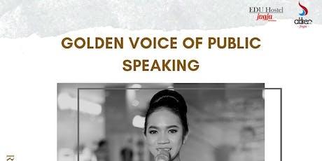 Golden Voice of Public Speaking tickets