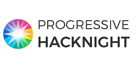 Progressive HackNight #58 - Working HackNight tickets