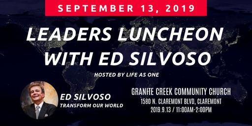 Leaders Luncheon with Ed Silvoso