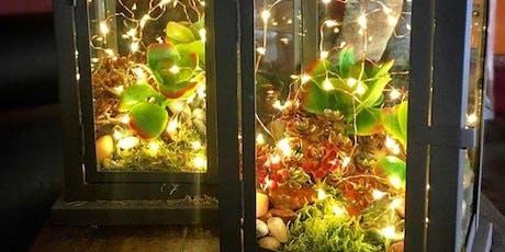 Succulent Lantern Workshop tickets
