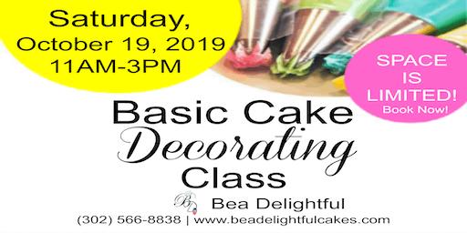 Basic Cake Decorating Class