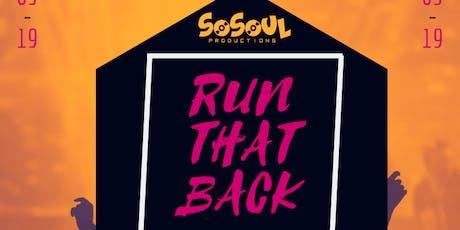 Sound & Lyrics - Run that Back Open Mic tickets