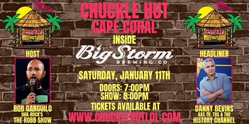 Chuckle Hut Comedy Show - Cape Coral (inside Big Storm Brewing Co.)