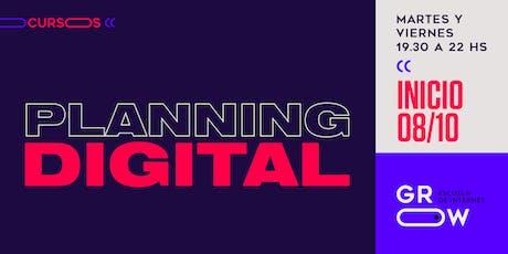 Planning Digital entradas