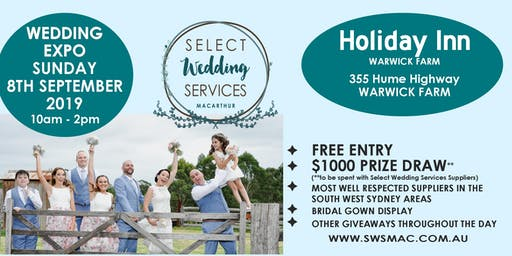 Select Wedding Services Wedding and Events Showcase