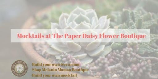 Mocktails at The Paper Daisy Flower Boutique