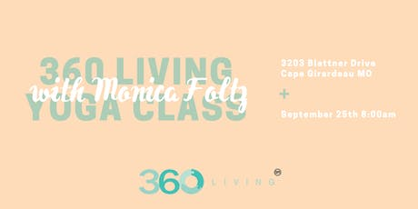 360 Living Yoga Class tickets