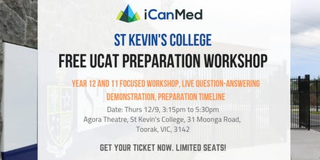 Free St Kevin's College UCAT Workshop: What is the UCAT & How to Beat It! tickets