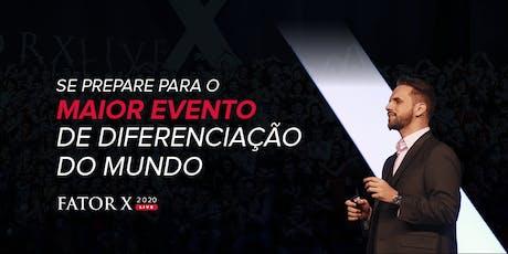 Fator X Live 2020 - Gold tickets