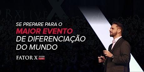 Fator X Live 2020 - Gold ingressos