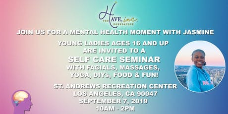 Mental Health Moment With Jasmine tickets