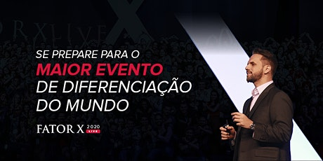 Fator X Live 2020 - RedX ingressos