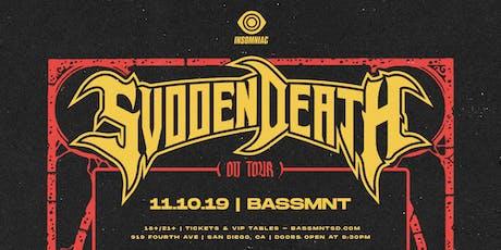 Svdden Death at Bassmnt Sunday 11/10 tickets