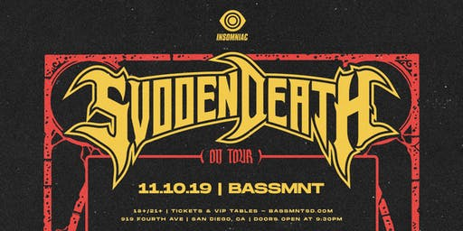 Svdden Death at Bassmnt Sunday 11/10