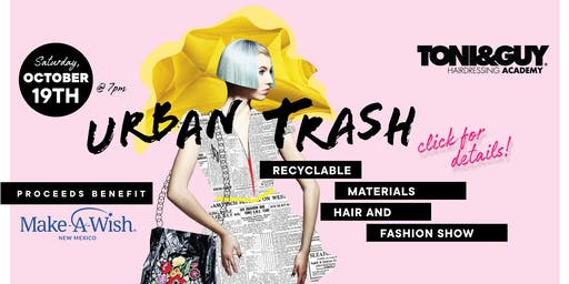 Urban Trash Recyclable Materials Fashion Show