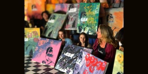 Audrey Paint and Sip Brisbane 16.11.19