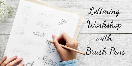 Intro to Modern Calligraphy with Brush Lettering tickets