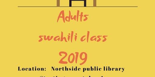 Adult Swahili class