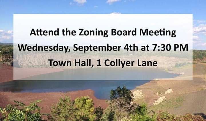 Postponed!-Sept. 4th Meeting-Millington Quarry to be Subdivided! image
