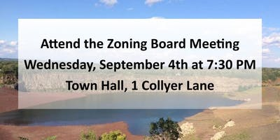 Sept. 4th Meeting-Millington Quarry to be Subdivided!