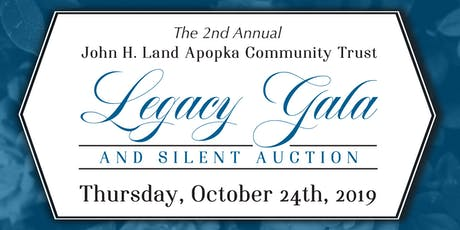 Second Annual John H. Land Legacy Gala tickets