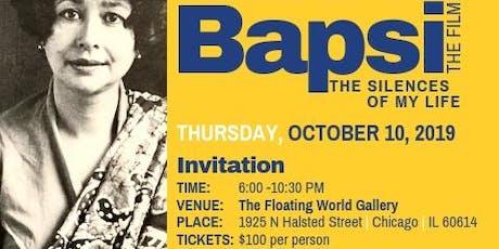 Bapsi | The Film Chicago Benefit tickets