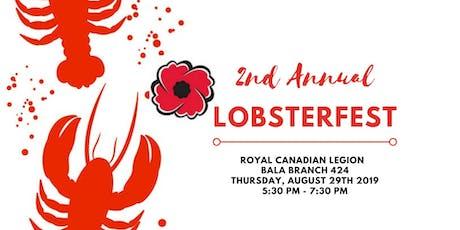 Bala Legion Presents Lobsterfest 2019 tickets