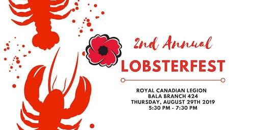 Bala Legion Presents Lobsterfest 2019