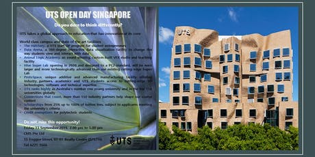 UTS OPEN DAY - AUSTRALIA'S #1 YOUNG UNIVERSITY tickets