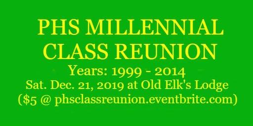 PHS Millennial Class Reunion!