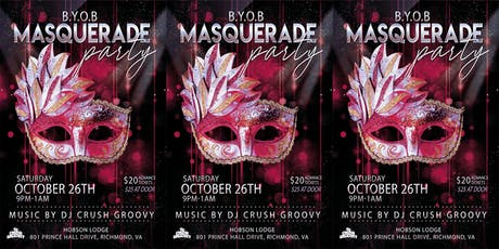 BYOB Masquerade Party tickets