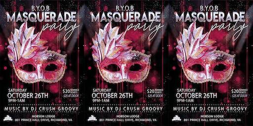 BYOB Masquerade Party
