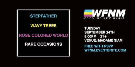 WE FOUND NEW MUSIC 9/24: FT. STEPFATHER, WAVY TREES AT MADAME SIAM tickets