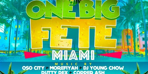 ONE BIG FETE