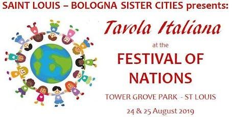 FESTIVAL OF NATIONS - TAVOLA ITALIANA tickets