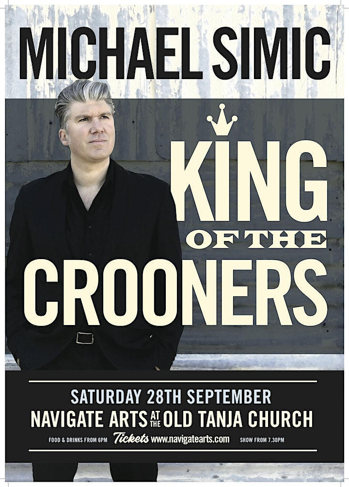 Michael Simic- King of the Crooners image