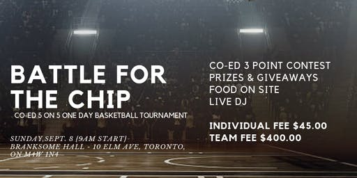 Battle of the Chip - Toronto Coed Basketball Tournament