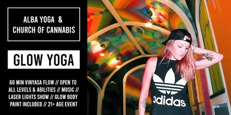 Glow Yoga with Alba Avella and Church of Cannabis // September 21 tickets