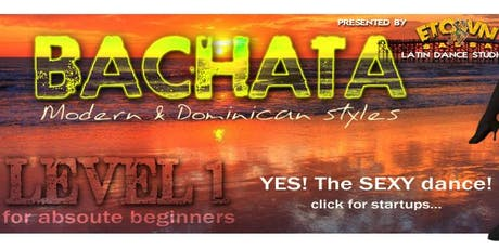 BACHATA for BEGINNERS tickets