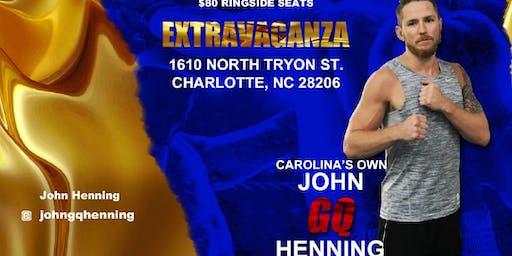 "John ""GQ"" Henning Live Pro Boxing Event 9/21/19"