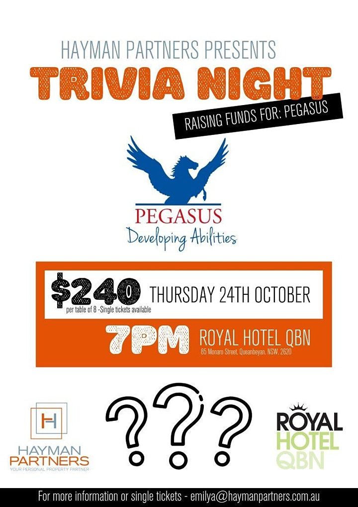 Hayman Partners Charity Trivia Night image
