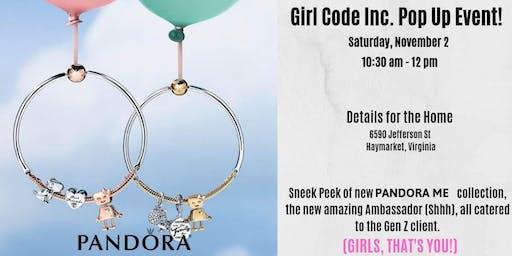 Girl Code Inc. Pop Up Meeting!
